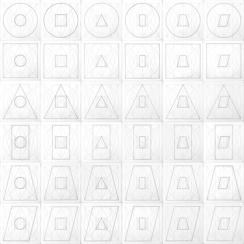 Geometric Figures Within Geometric Figures
