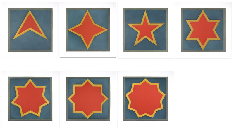 Stars – Red Center