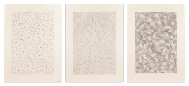 Complex Forms: A Set of Three Prints – B
