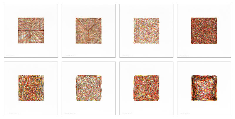 Eight Small Etchings/Color