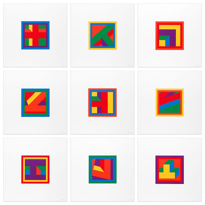 Nine Linocuts