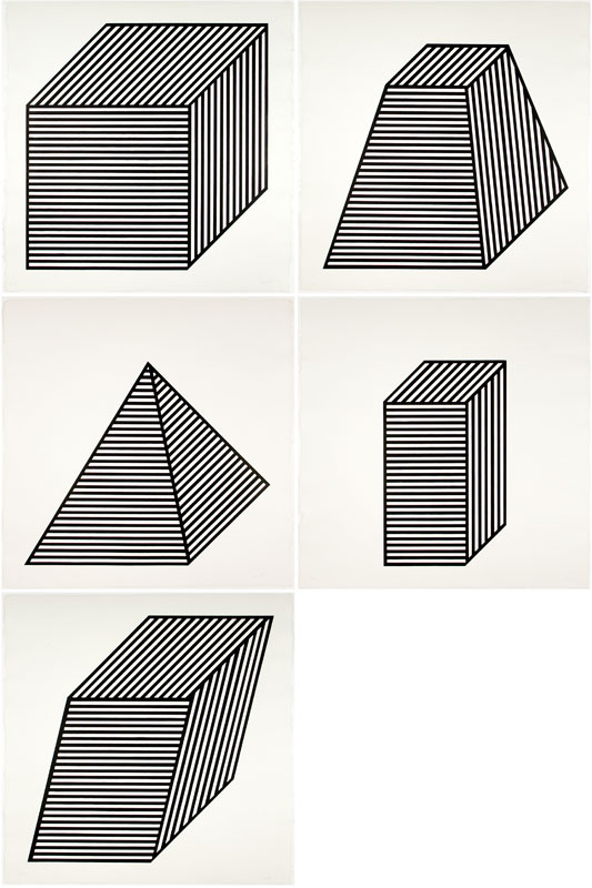Five Forms Derived From a Cube